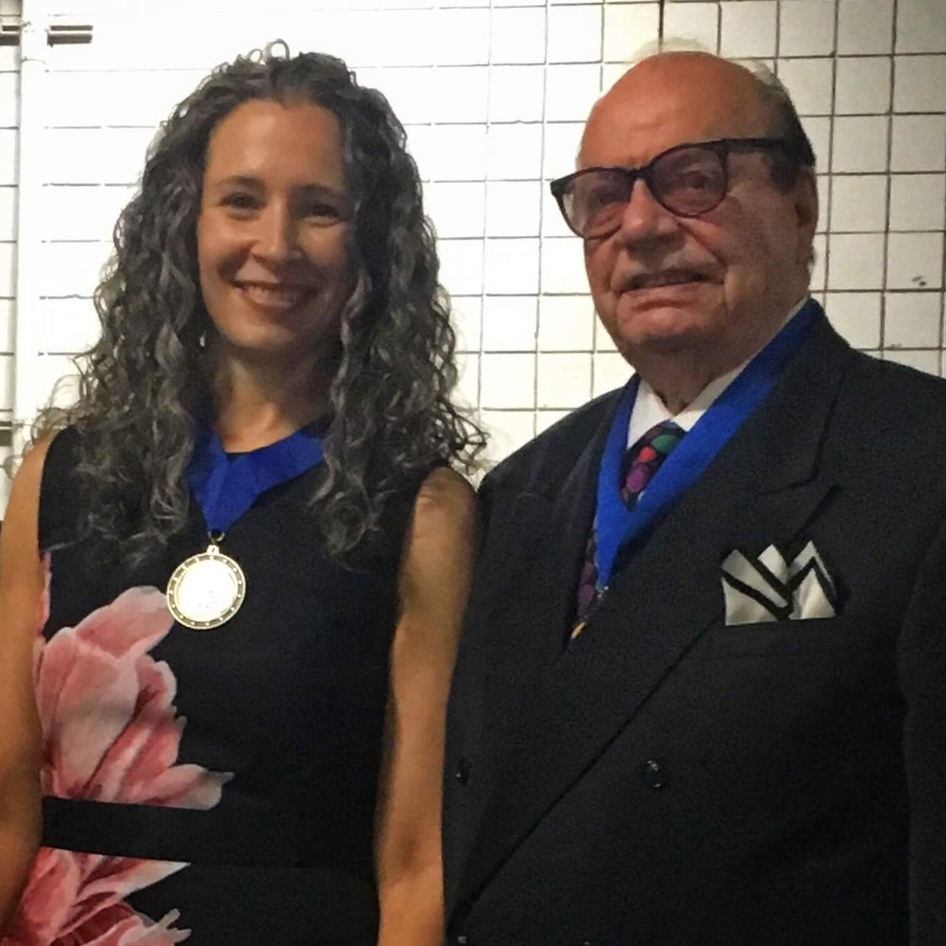 Erika Flint is awarded the Order of Braid designation from the National Guild of Hypnotists