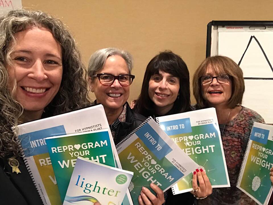 Reprogram Your Weight Training for Hypnotists post conference with some of the student!!! We had a successful one day certification program. -