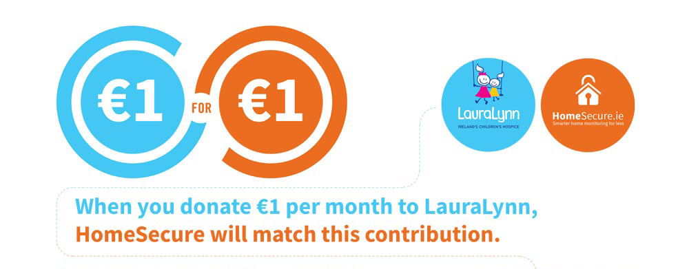 LauraLynn hospice homesecure partnership