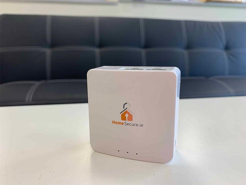HomeSecure alarm systems led light z wave