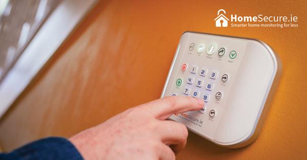 Zero wire wireless home alarm