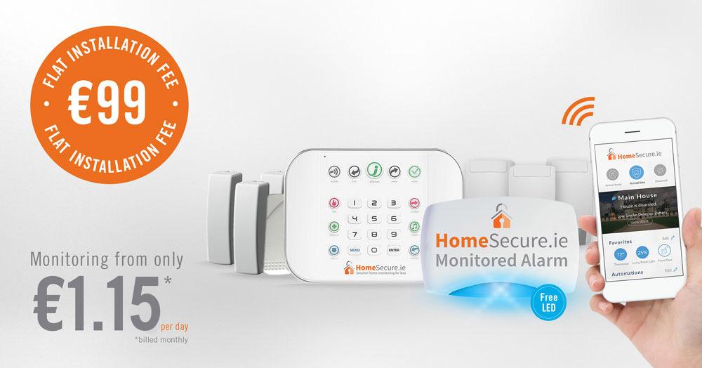 house alarm pack €99 hand on app