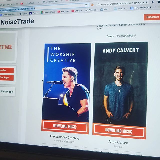 "Hey guys my EP ""Acclaim"" is being featured in noisetrade's news letter!!! #andycalvert #andycalvertmusic #kingdom  #kingdom come  #acclaim  #mile1records  #Todd burkhalter  #thetodd #chandlerstone #richieheyward  #bethelmusic  #passioncity  #worship  #jesuschrist  #church  #jesussaves #jesuslovesyou  #savedbygrace #doinwhatilove  #playingforjesus  #christianmusic  #gospelmusic  #artist  #producer  #singersongwritter  #upcomingmusician  #songwriter  #singersongwriter  #newartist  #praise"