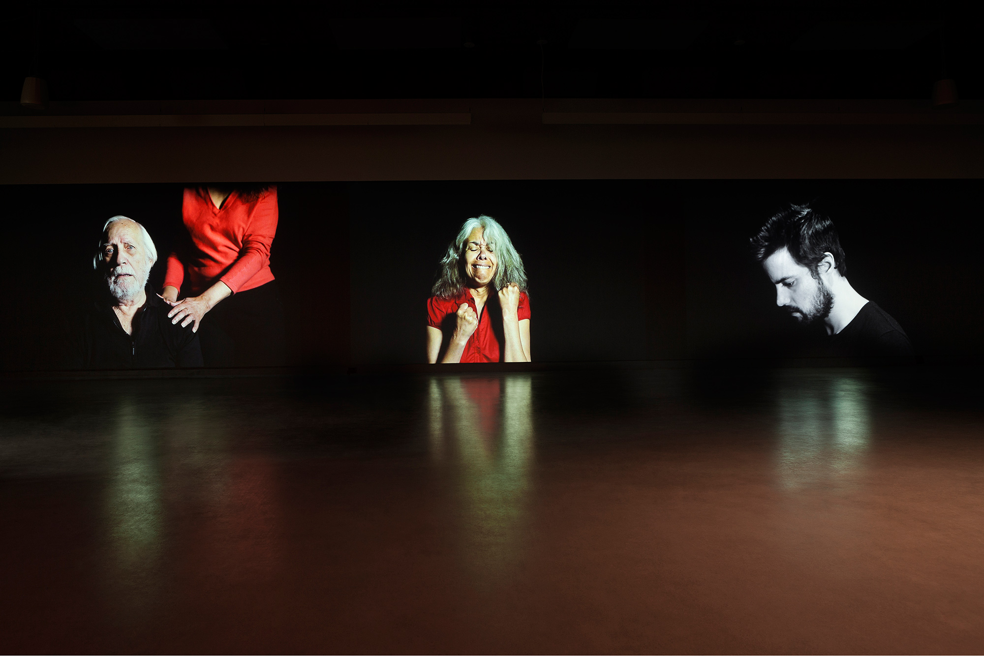 © Nadia Seboussi,  Hidad  (2015). Exhibition view. Photo: Marilou Crispin.