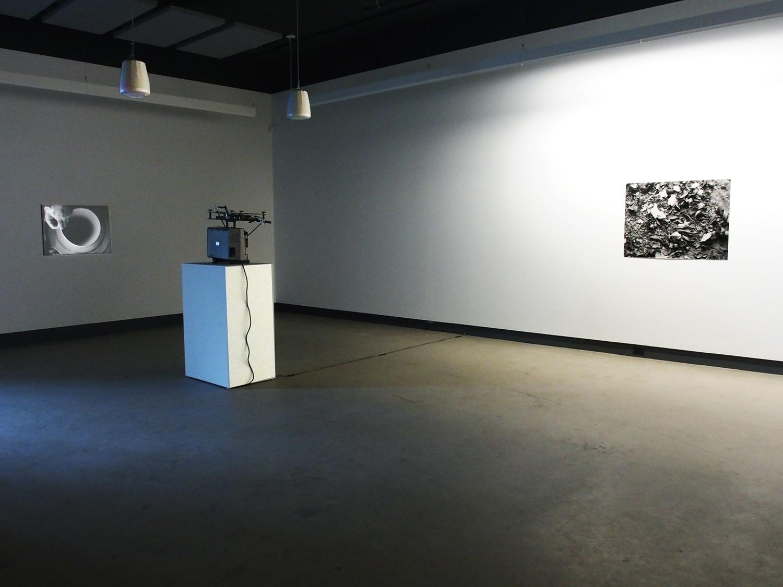 © Lorna Bauer and Jon Knowles, Rotations exhibition view (2014).Photo: Dazibao.