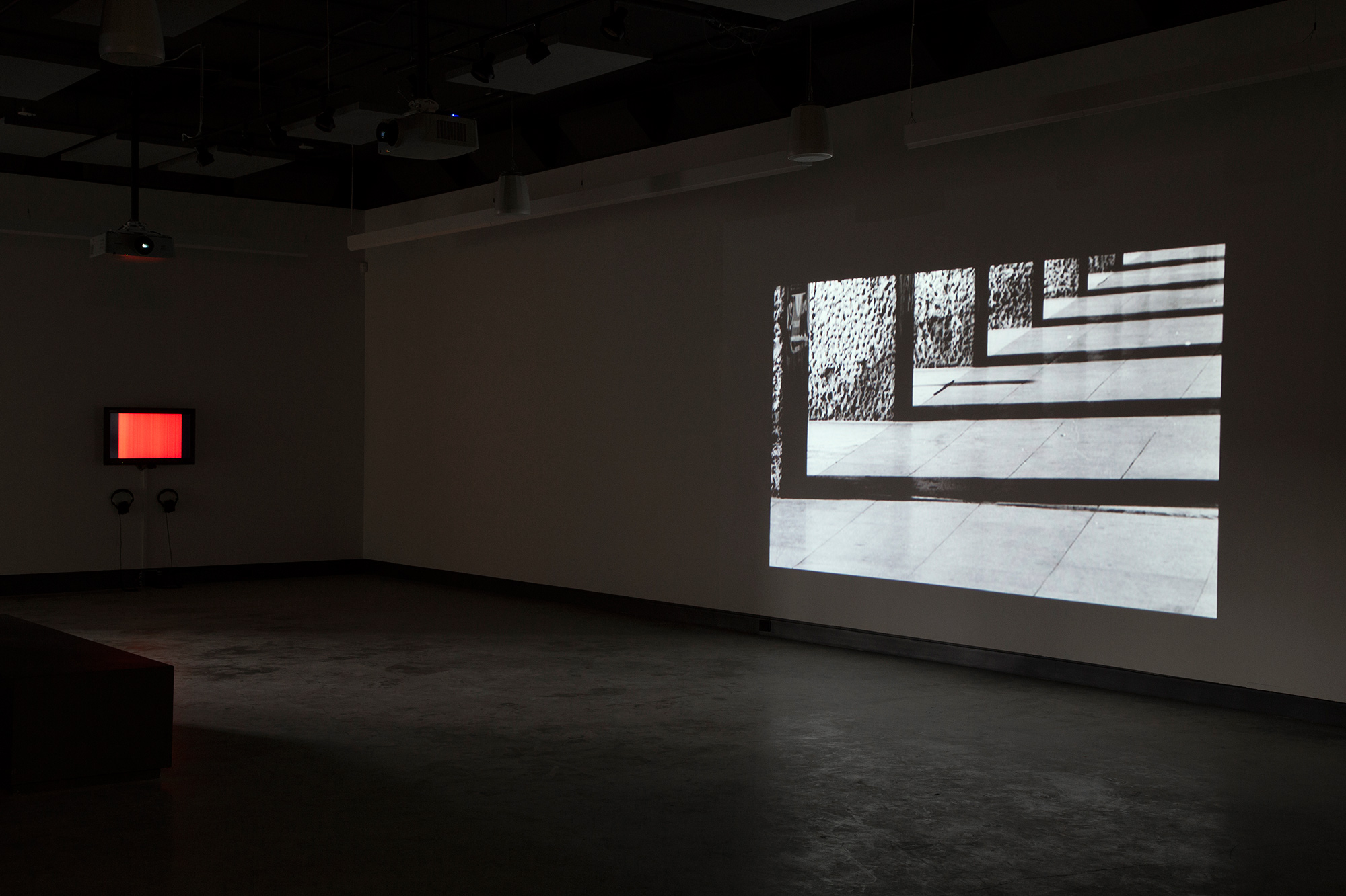 ©  Electronic Sound in a Shifting Landscape  exhibition view. Photo: Dazibao.