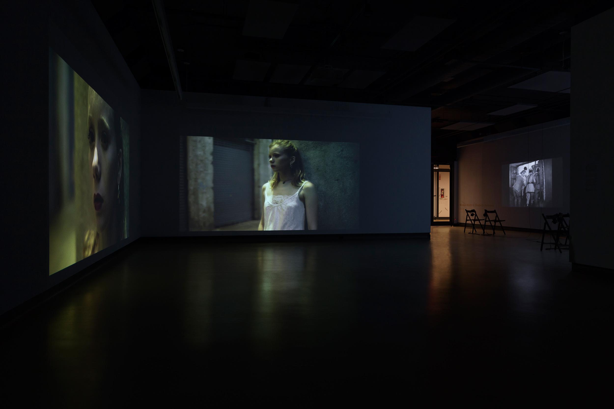 © Nicolas Klotz &Elisabeth Perceval, exhibition view (2017). Photo: Marilou Crispin.