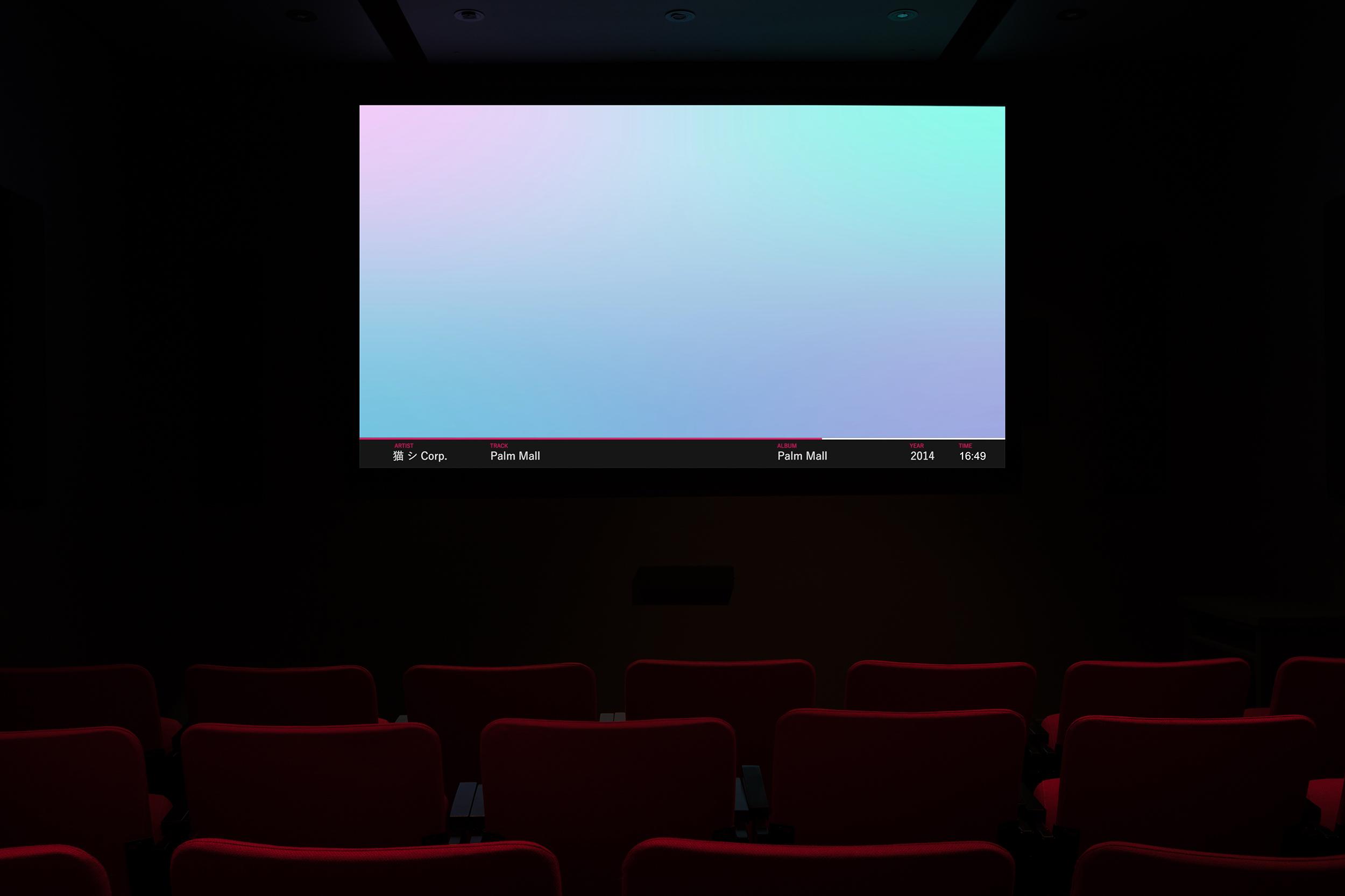 ©  #mallsoft: Reflections On A Dead Genr e, a project prepared by Douglas Moffat(2019). Exhibition view. Photo: Marilou Crispin.