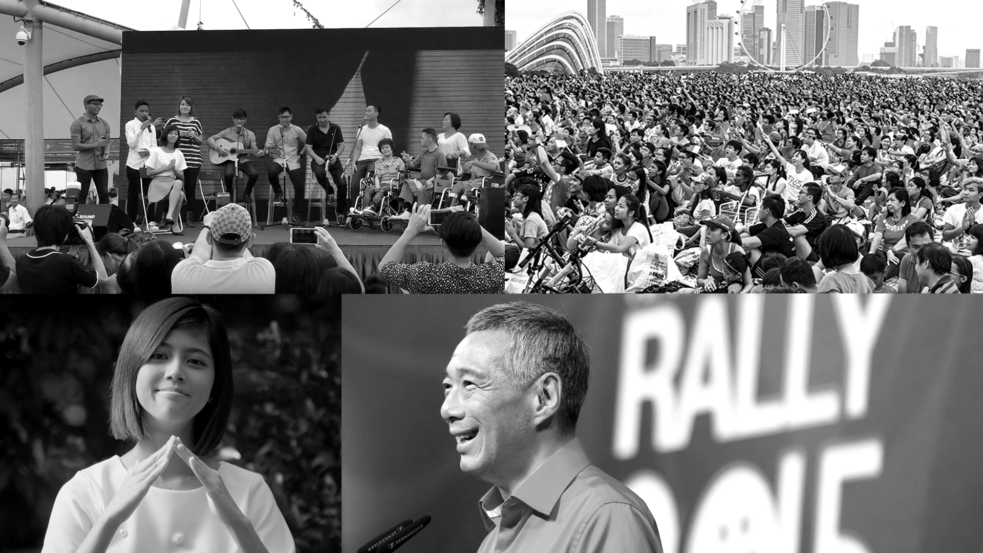 Our stars were invited to perform live on National Day weekend at the Marina Barrage, in front of thousands of Singaporeans. And one even got to perform alongside the original singer of 'Home', Kit Chan, during the National Day Rally.