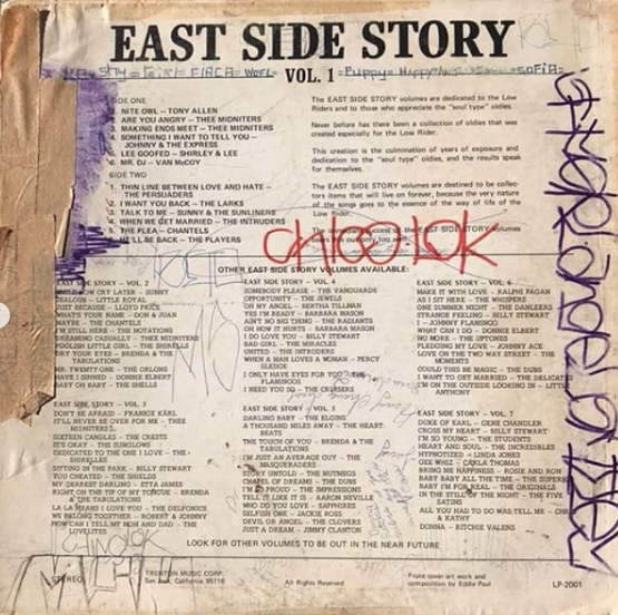Image:  East Side Story Project