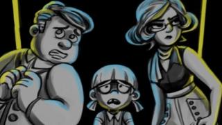 BEST GAME + BEST GAME ART + FAN FAVORITE   GHOUL KID - SAM WILSON UNIVERSITY OF UTAH