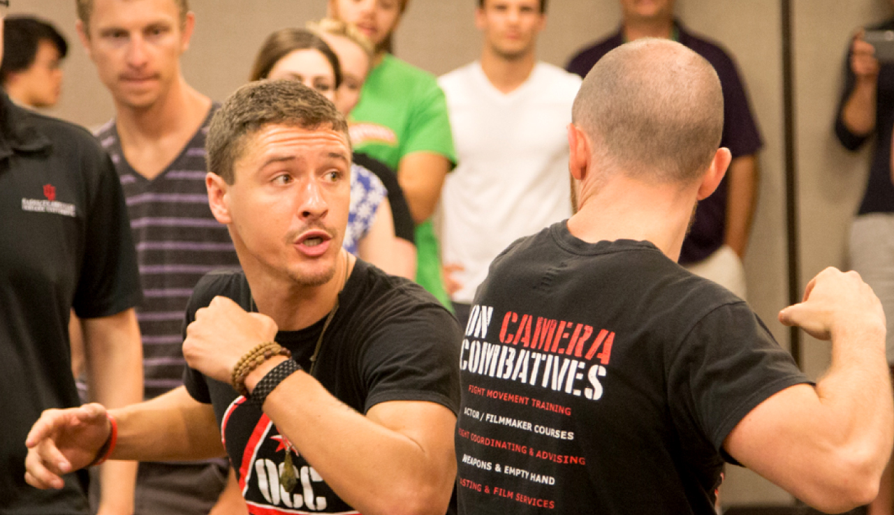 Fight Choreography for Film   with On Camera Combatives