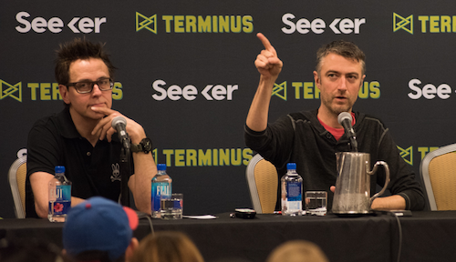 James & Sean Gunn (Guardians of the Galaxy)