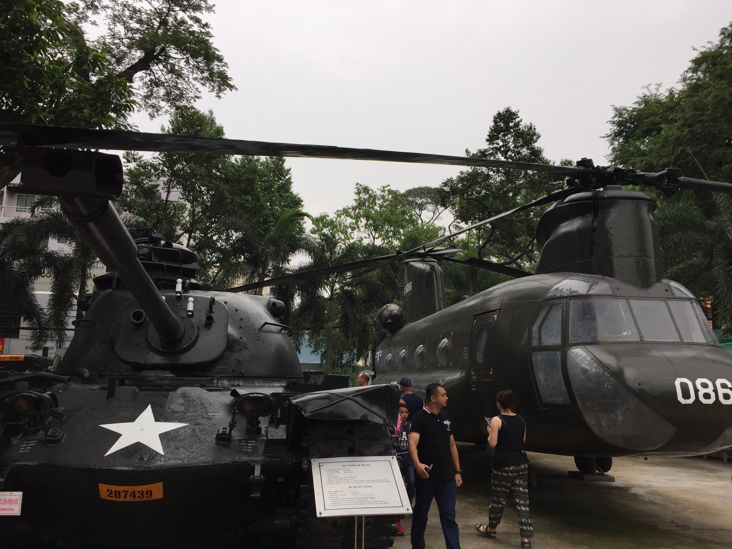 I had no idea how huge these Apache helicopters were - they're massive.