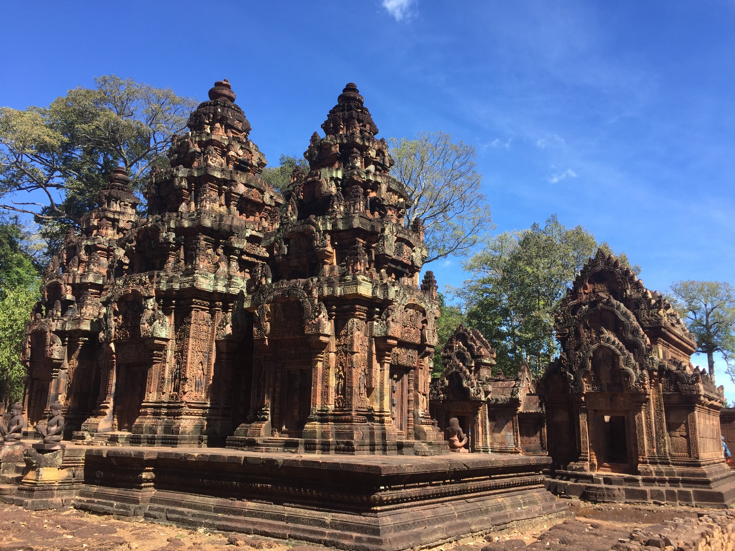 This is also Banteay Srei.