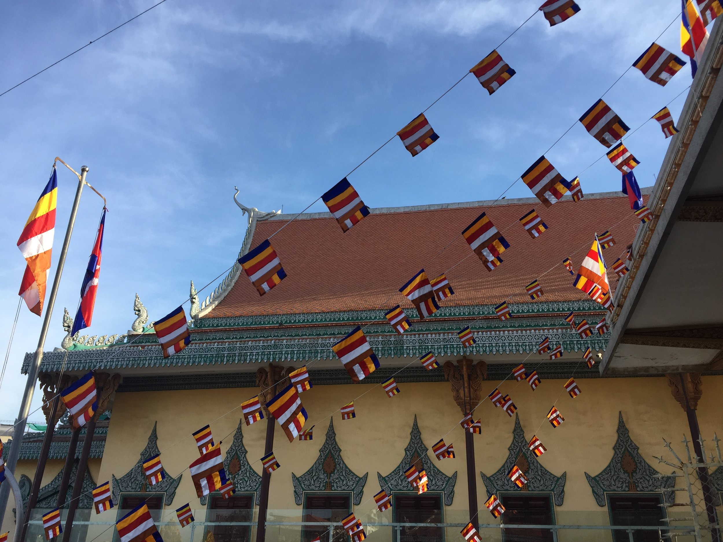 The Royal Palace in downtown Phnom Penh.