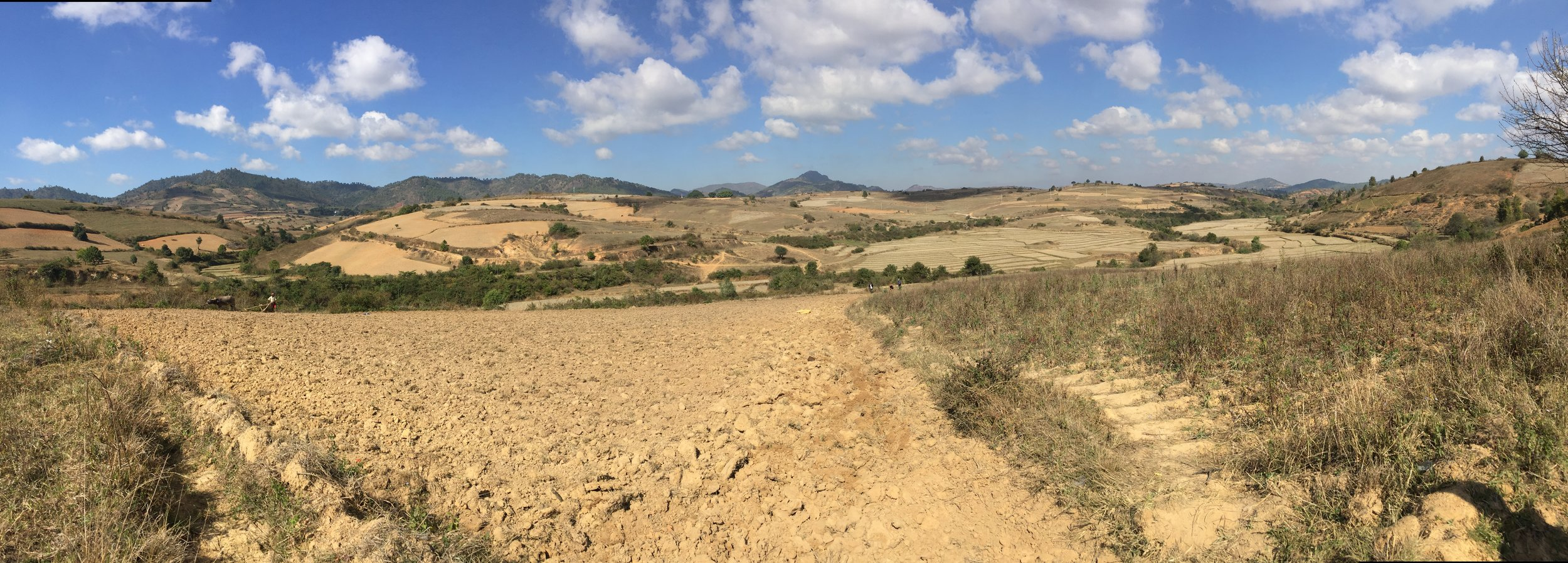Views of Shan State, on the trail to Inle Lake.