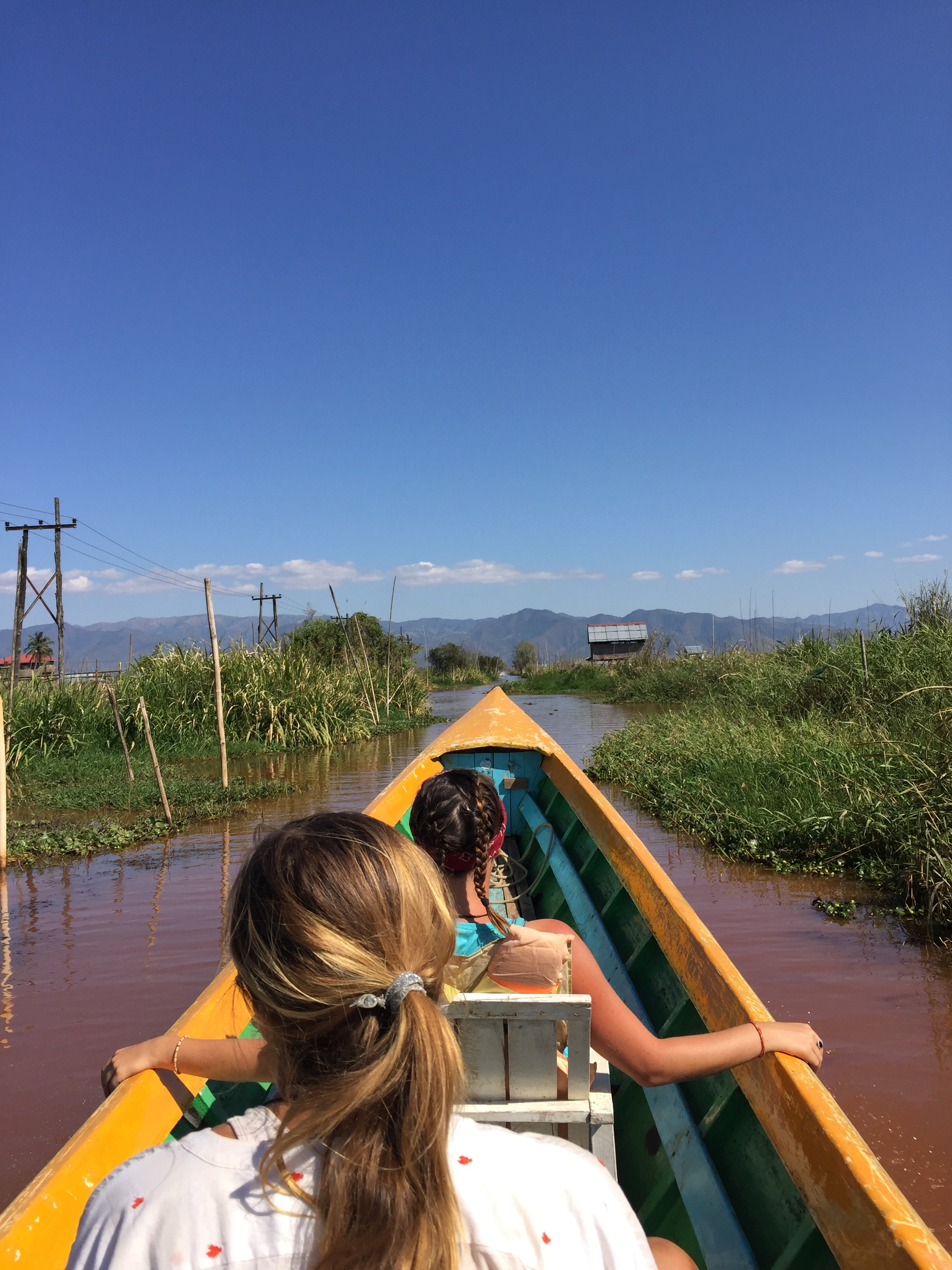 Our longboat tour of Inle Lake.