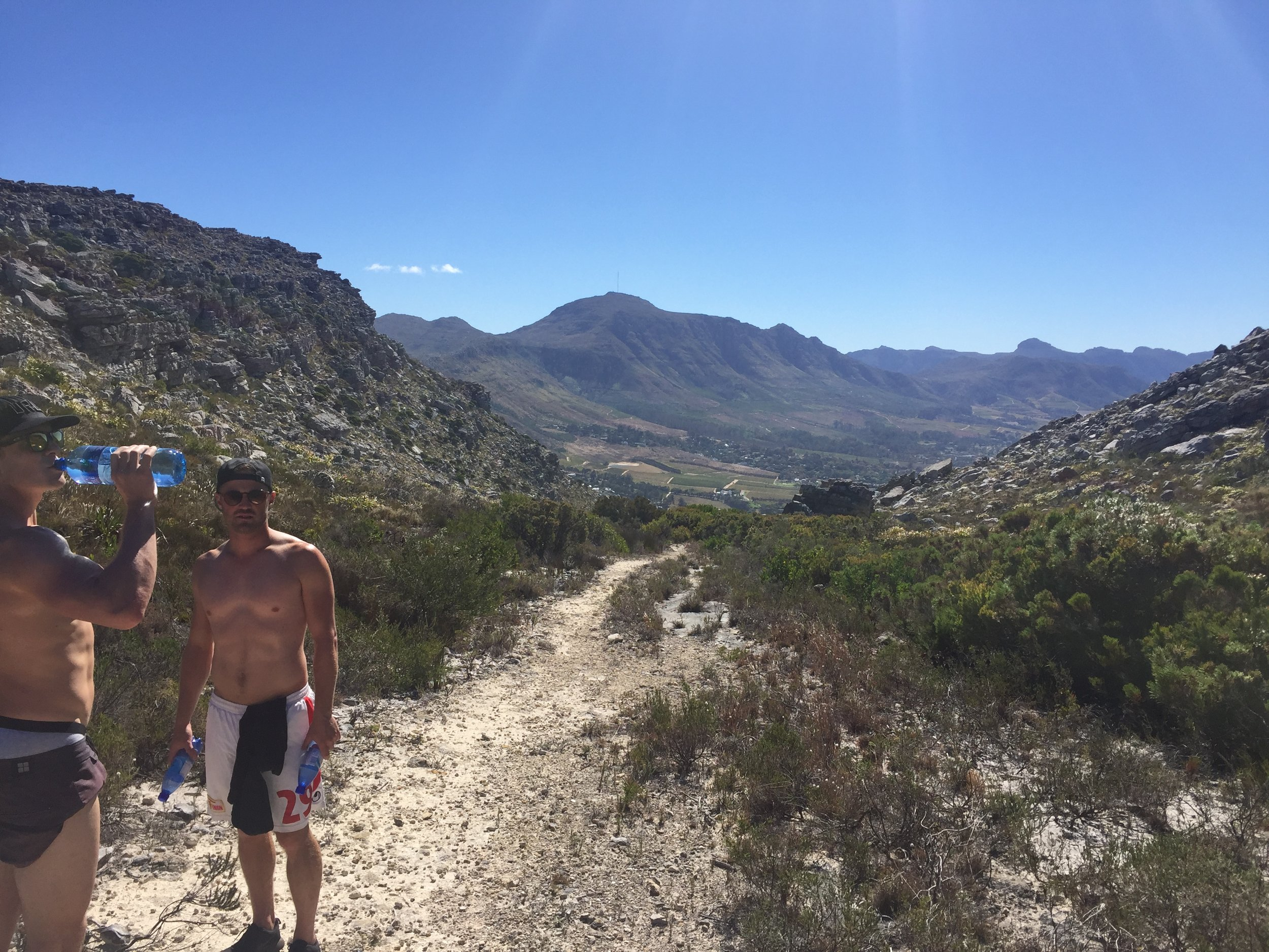 Benoit-led death marches in Muizenberg.
