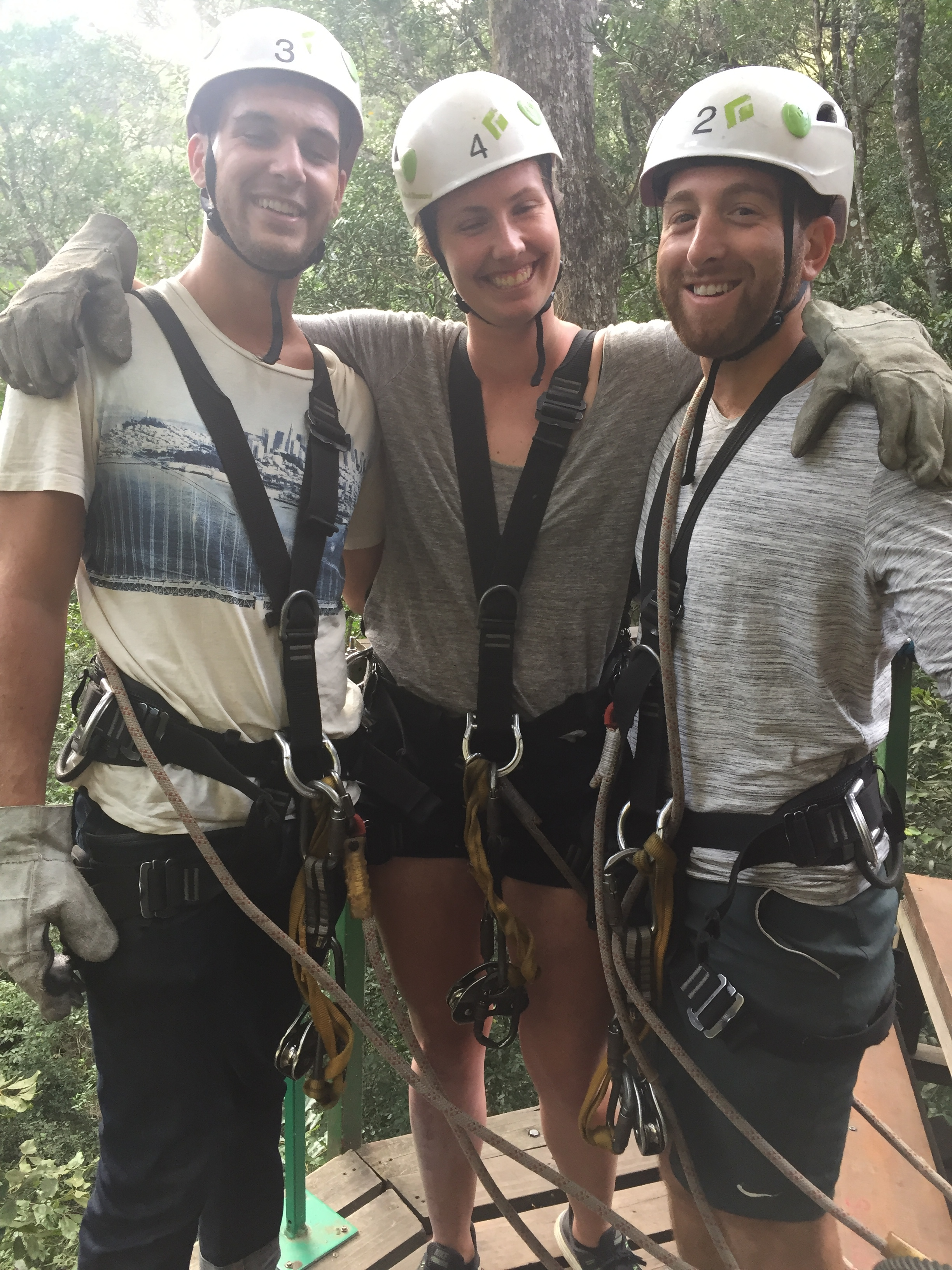 Catching some zipline action by Storms River.