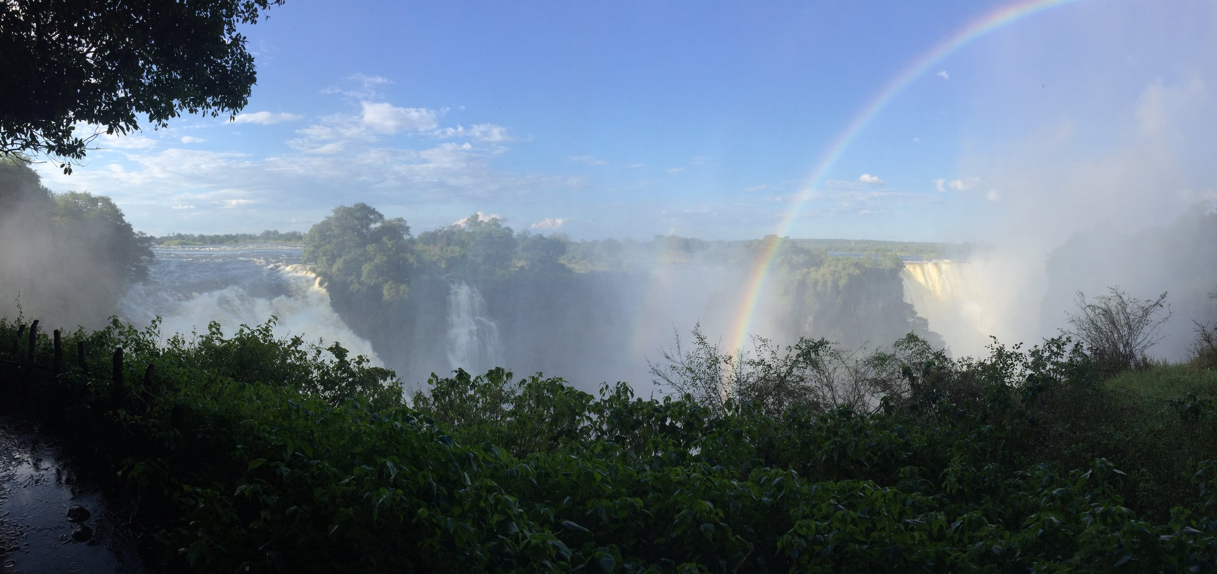 All of Victoria Falls looks like something you would find animated into a Disney Movie.