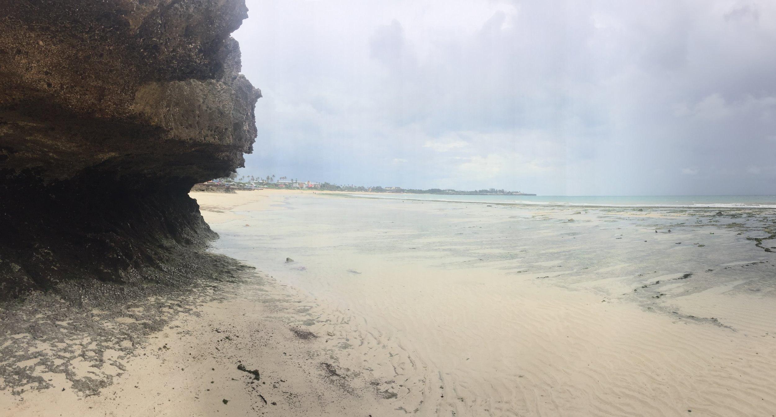 The empty beaches of Dar es Salaam, littered with trash and supposedly dangerous for tourists, but great to run.