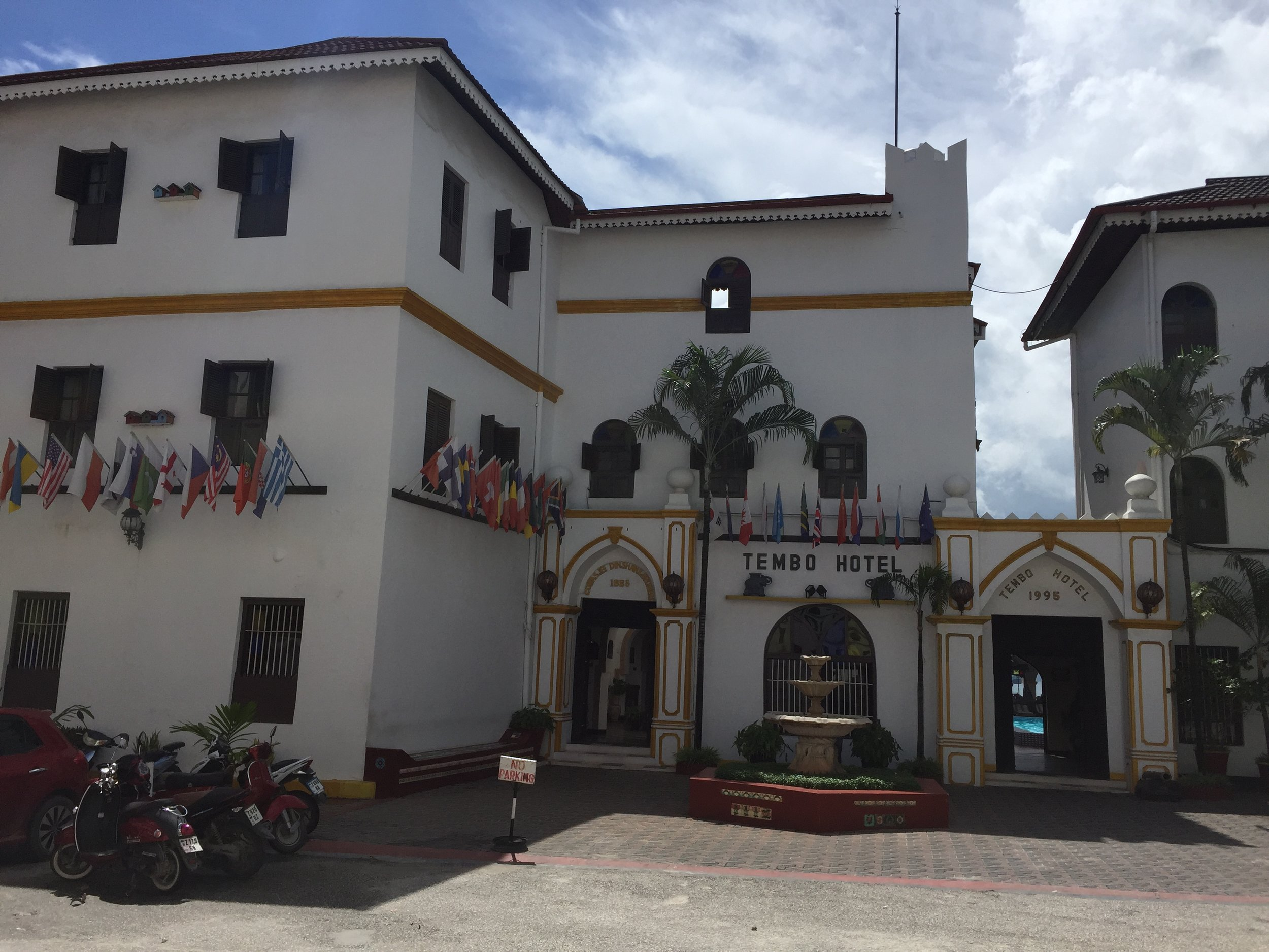 The old colonial-style buildings of Stone Town.