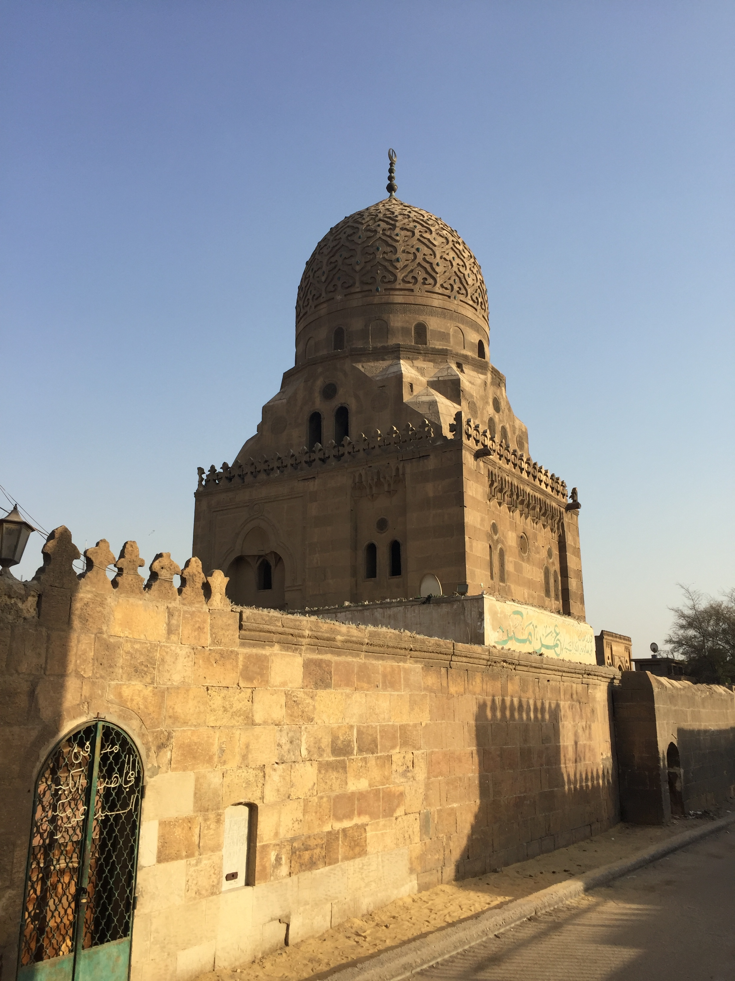 An ornate grave in Cairo's City of the Dead.