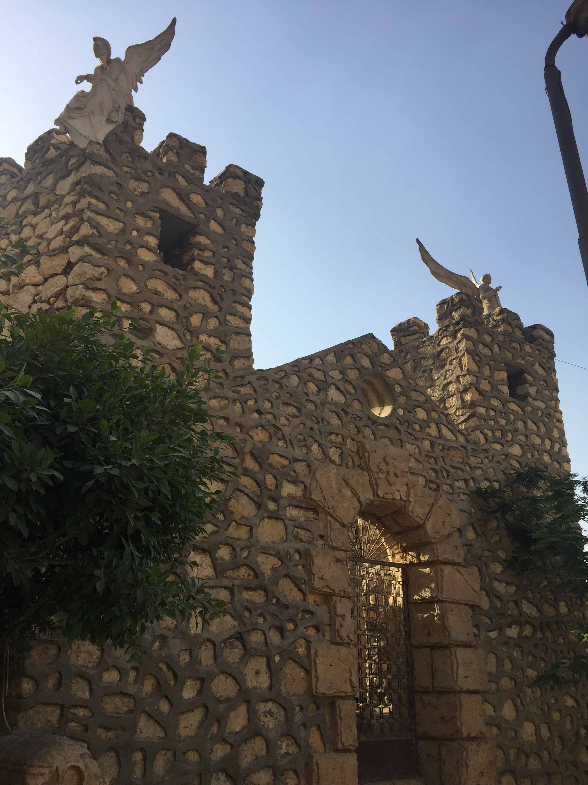 An ancient church at Al Mokattam.
