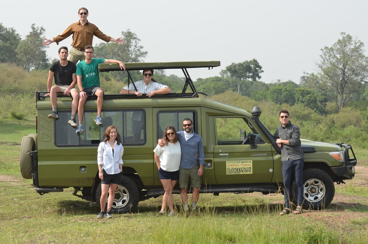 Team Kenya Dig It and the unstoppable safari mobile.