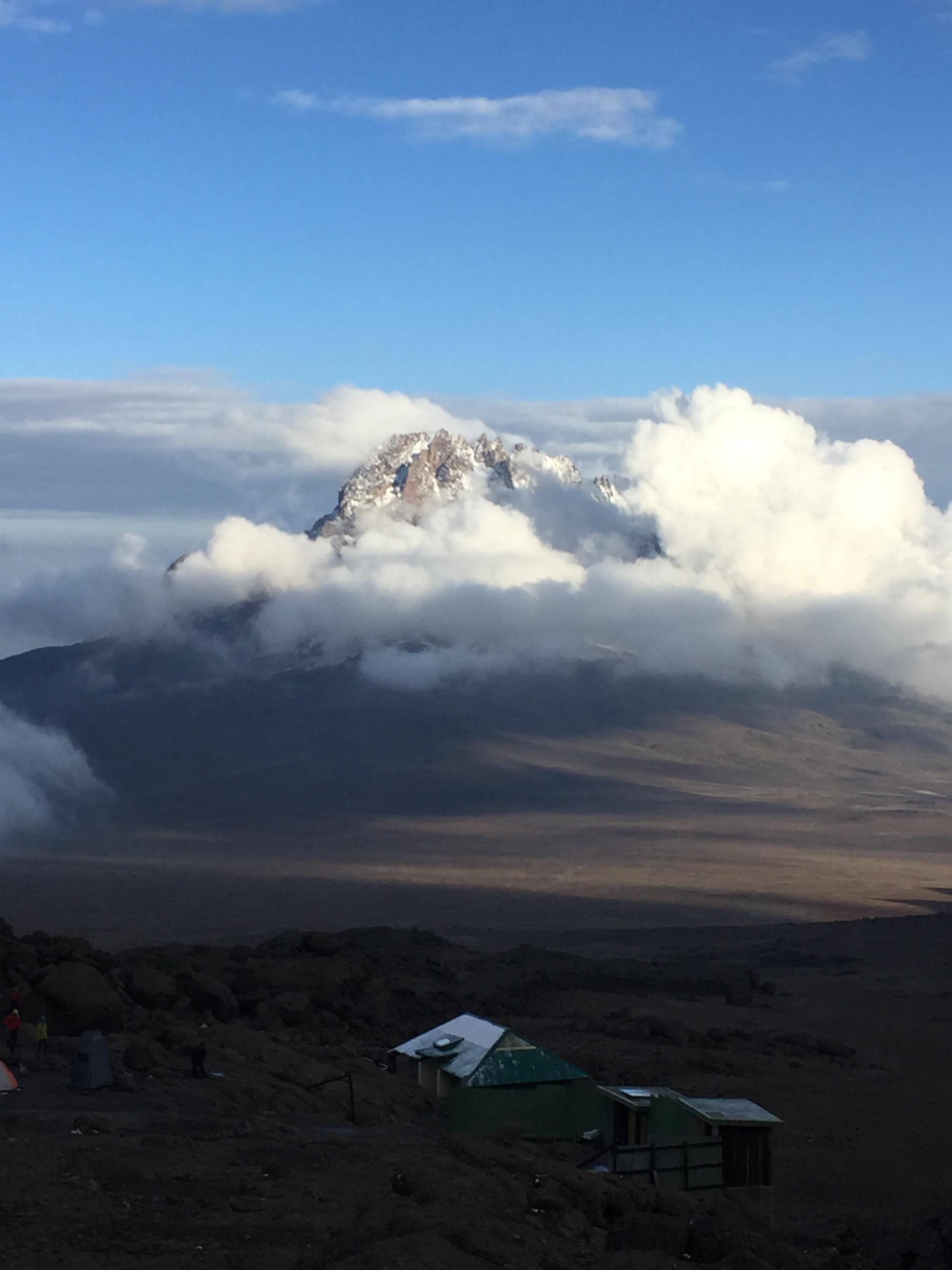Mawenzi Peak.