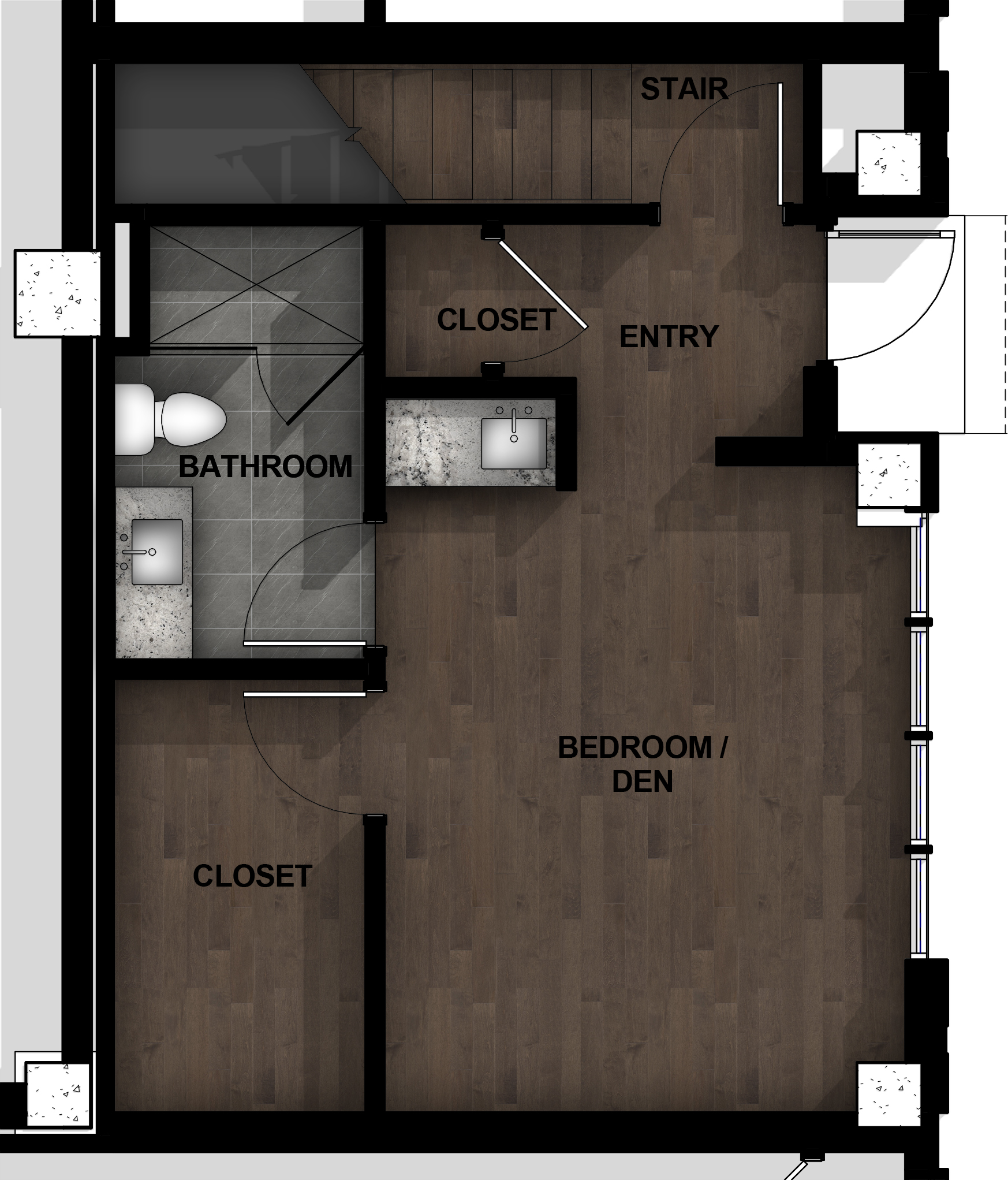 Townhome | Layout B1-1