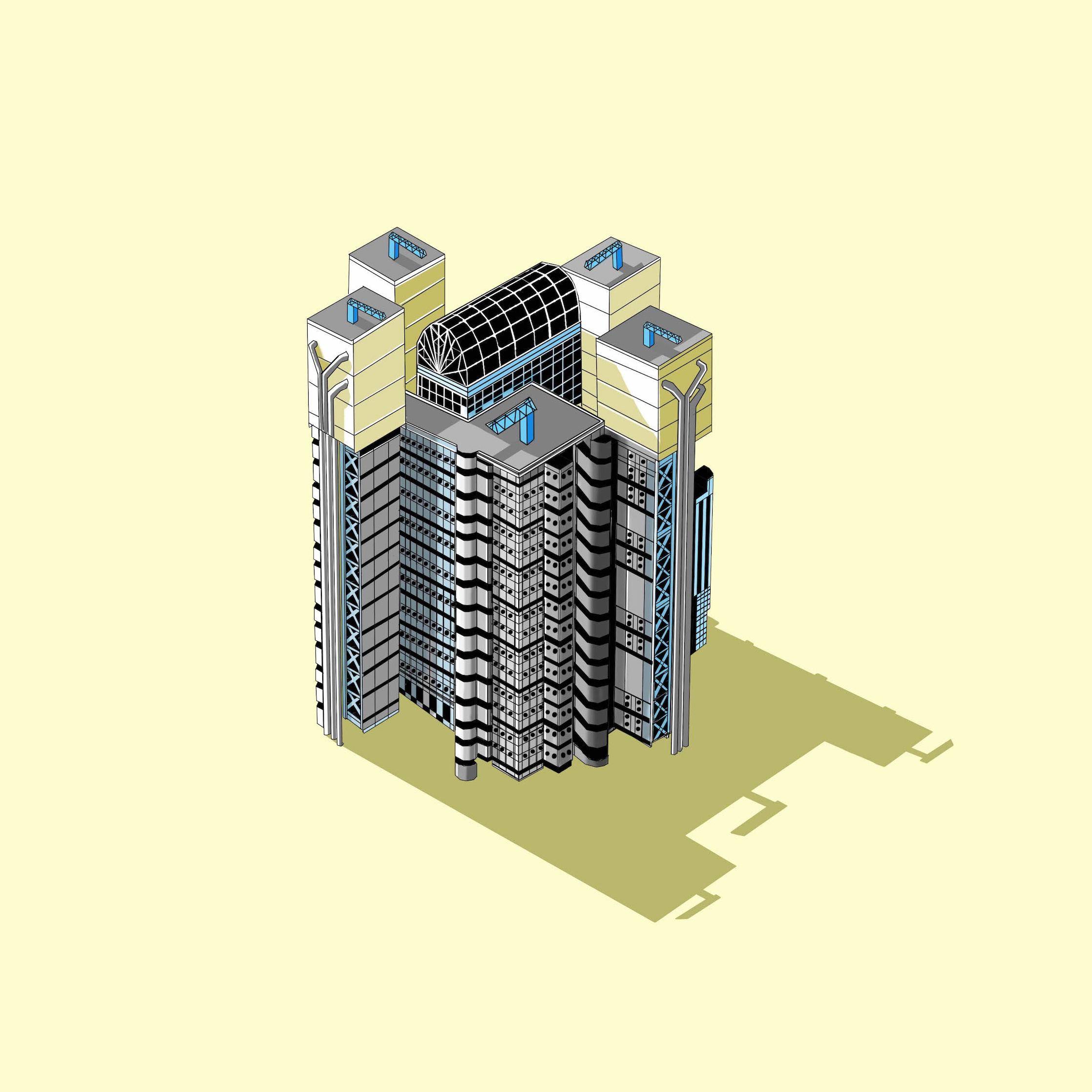 Lloyds Building  © Katherine Baxter
