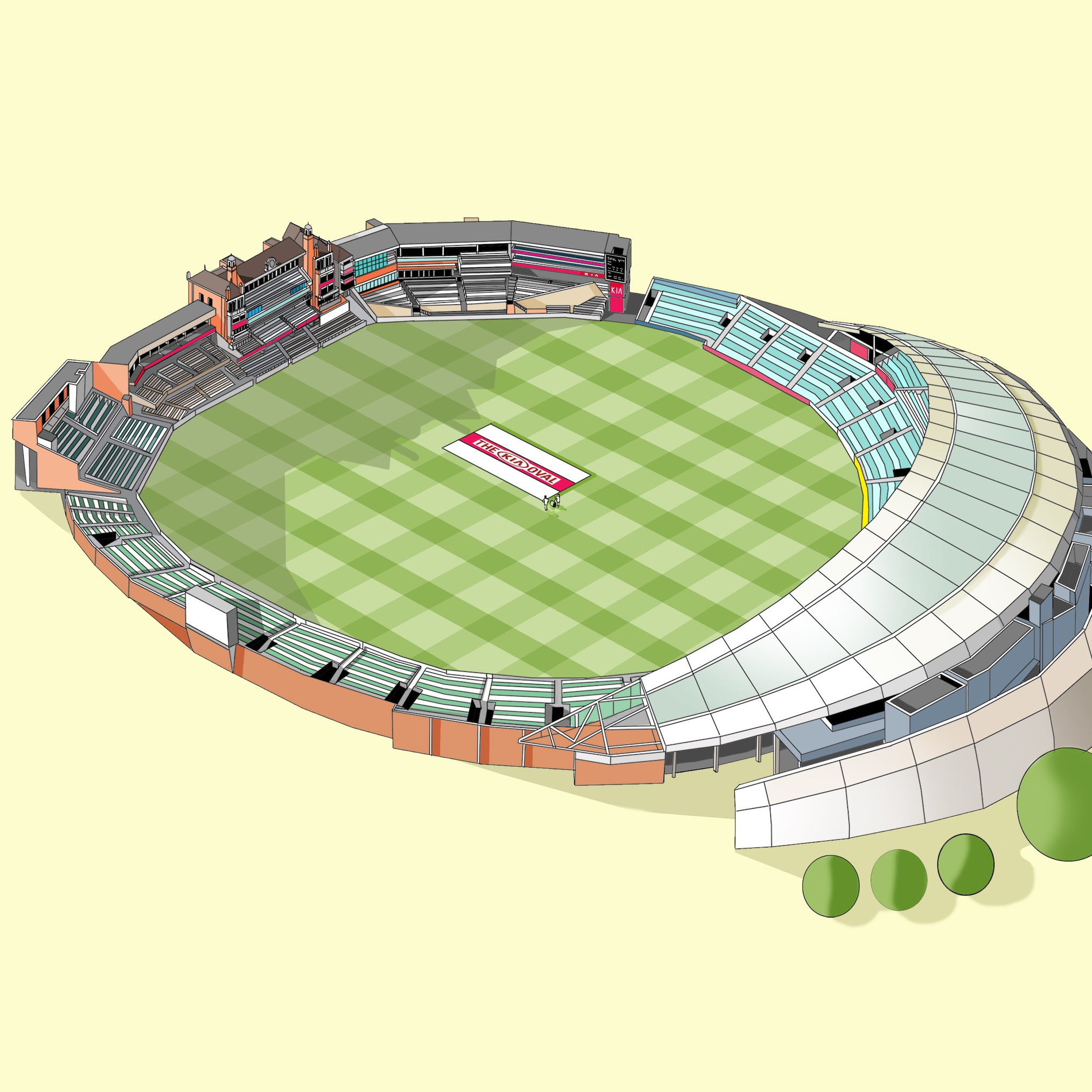 The Oval Cricket Ground   © Katherine Baxter