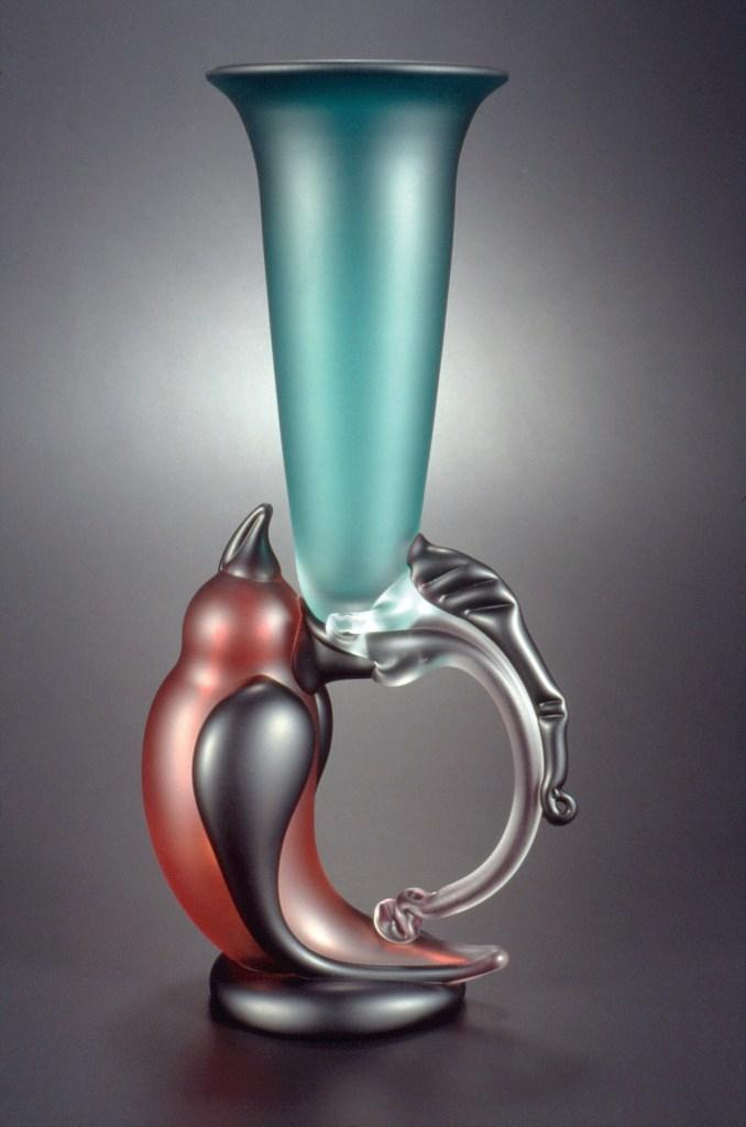 Levin Bird Goblet  14 h  Glass .jpg