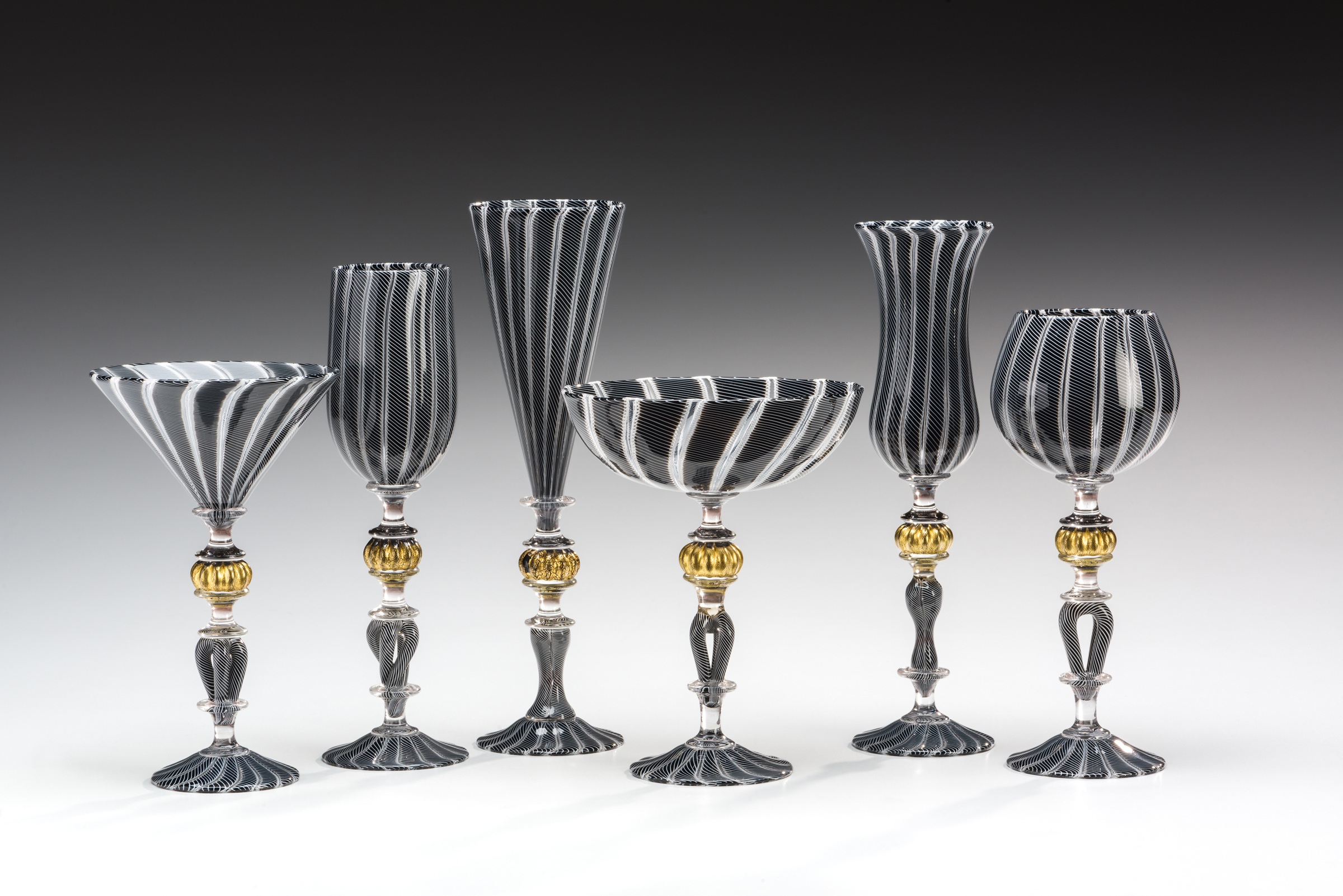 black and white cane goblets copy.jpg
