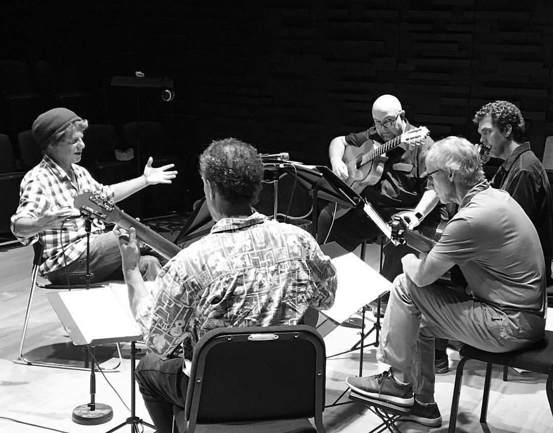 Rehearsal with Pat Metheny