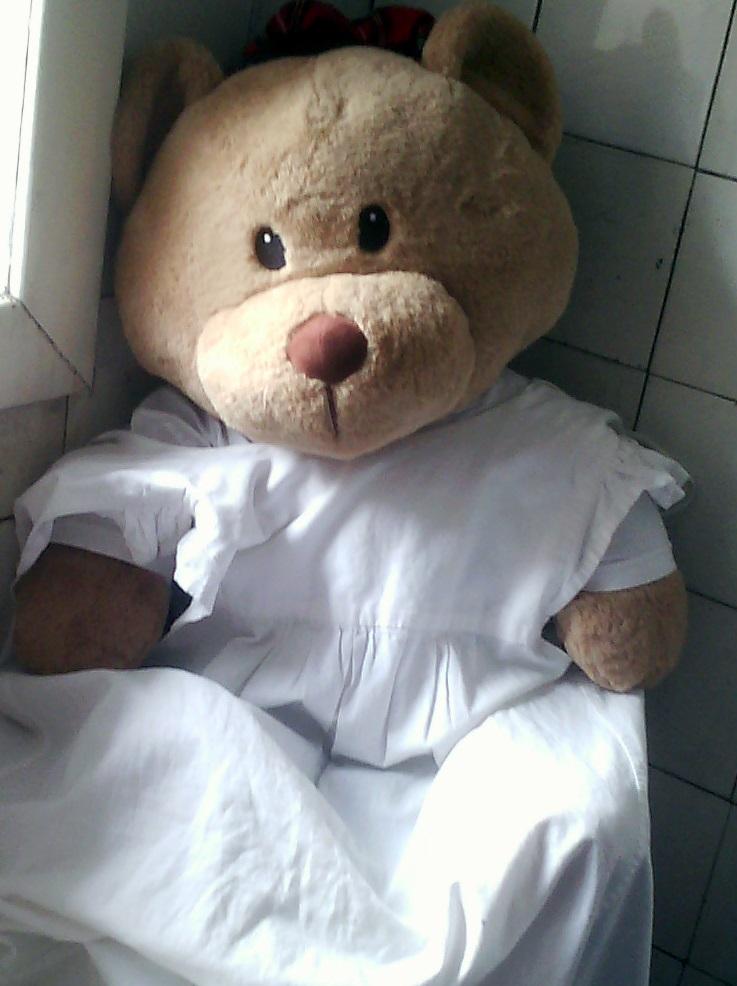 Hamish in old school uniform