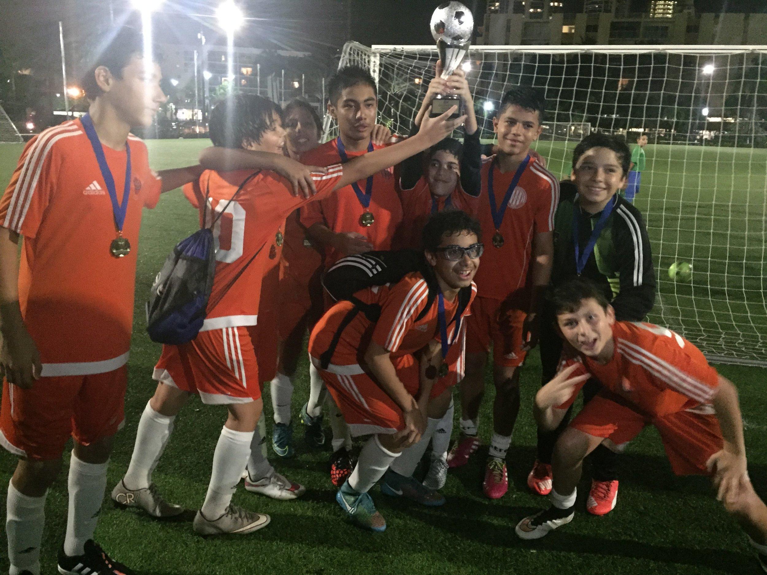 Athletic Club Miami U14 Champions