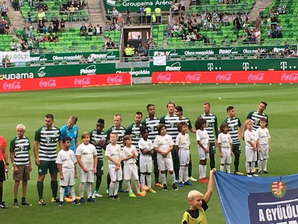 Ferencvarosi TC, Division I. professional game