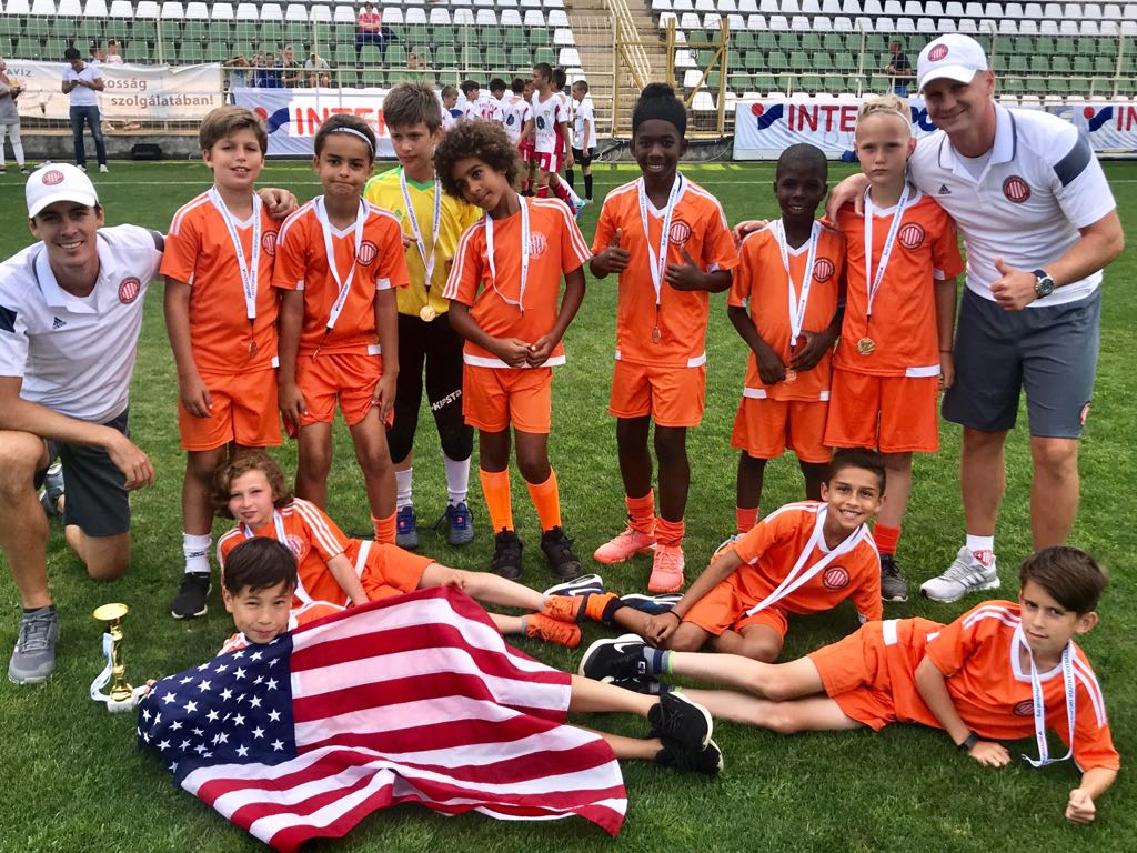 Bronze medal at INTERSPORT Youth Soccer Festival 2018 - AC Miami 2008 Travel Team