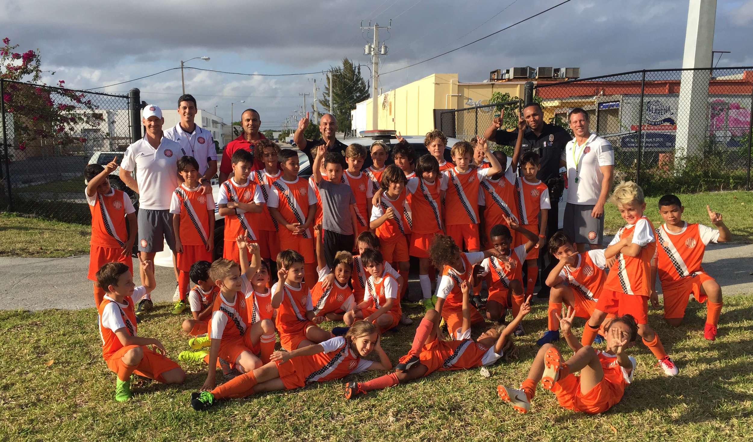 City of Miami Police Department and Athletic Club Miami Youth Soccer