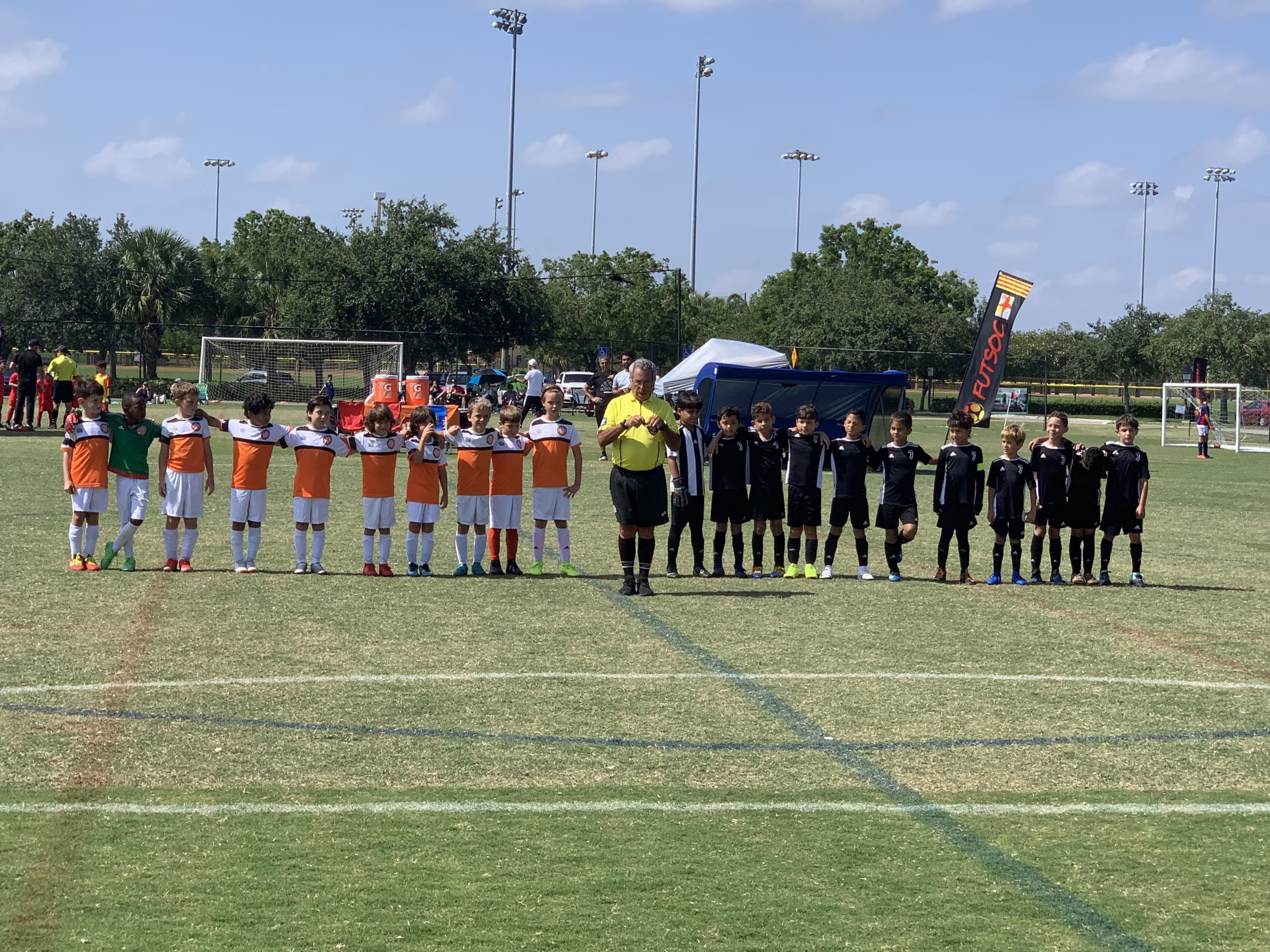 Athletic Club Miami U9 Orange at Enigma Cup