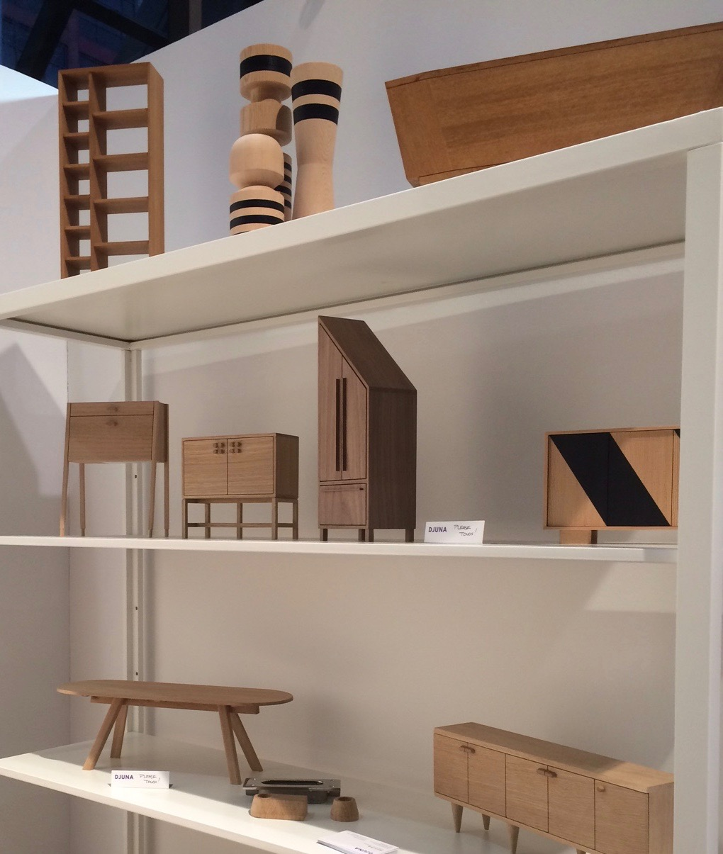 The impressive maquette's of Djuna Day Studio.