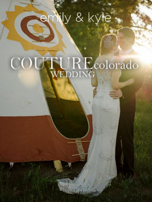Couture Colorado Wedding | March 2014