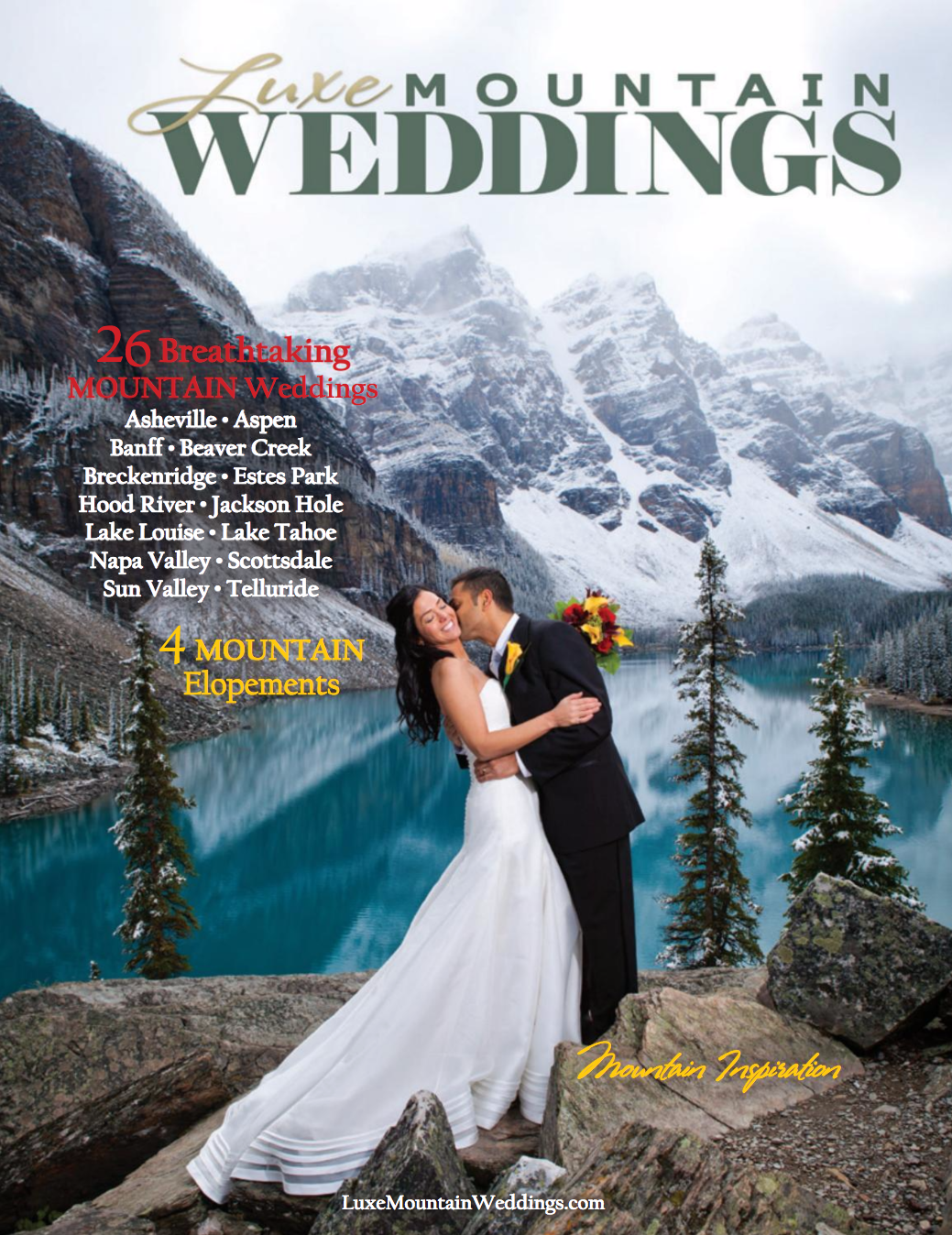 Luxe Mountain Weddings | Dec 2011