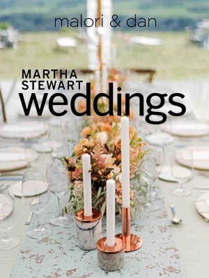 Martha Stewart Weddings | July 2018