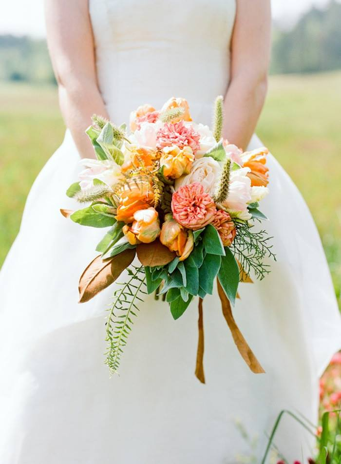 lillie jane bride bouquet fall