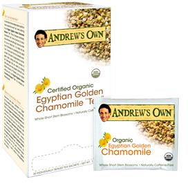 Egyptian Golden Chamomile Tea