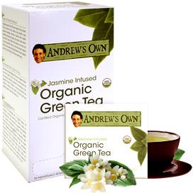 Jasmine Infused Organic Green Tea
